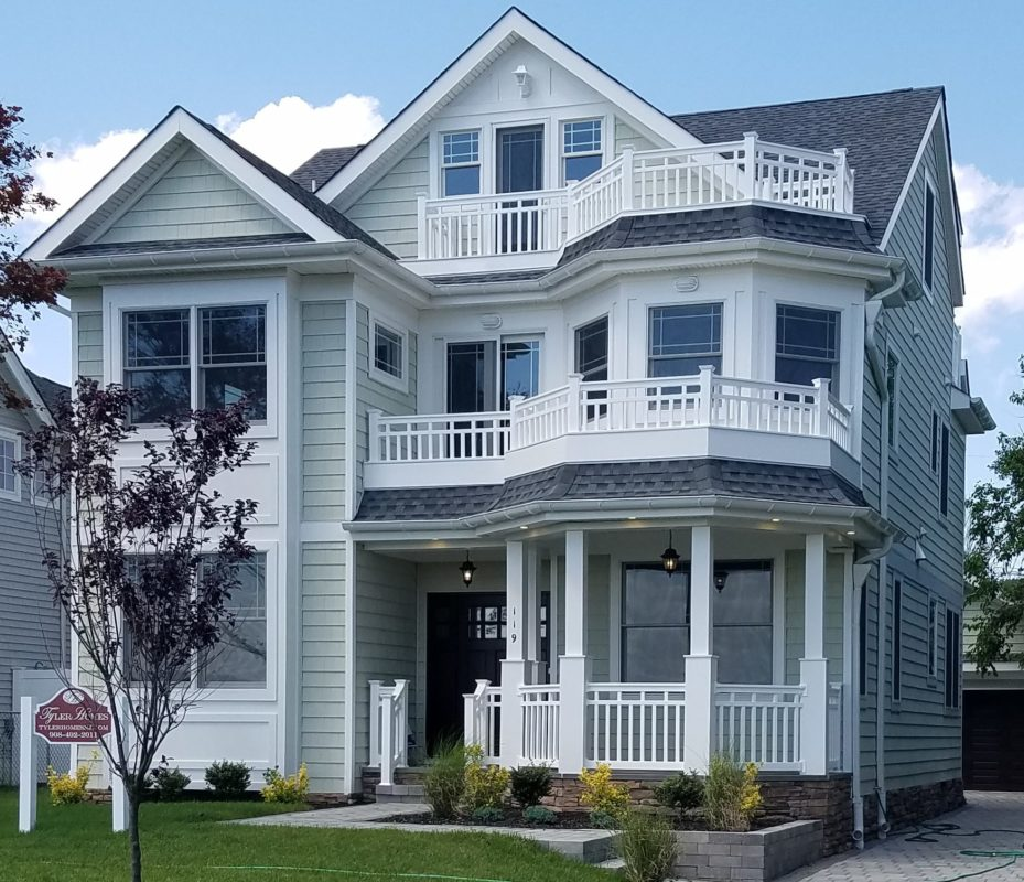 Finished homes waterfront and shore homes for Jersey shore waterfront homes for sale